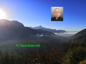 Fr. René Butler MS - 3rd Sunday of Lent - The Lord Our God