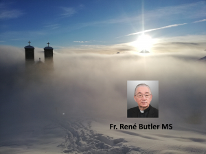 Fr. René Butler MS - 6th Ordinary Sunday - Moved with Pity