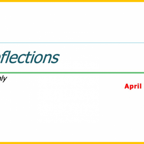 Reflection - April 2021