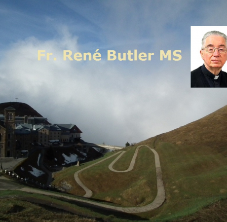 Fr. René Butler MS - Trinity Sunday - Be with...